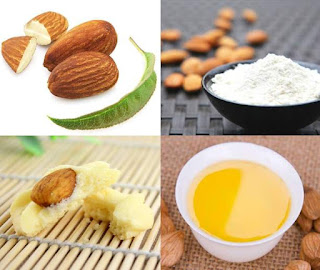Image result for scrub tepung dan minyak almond