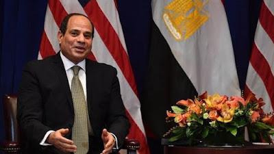 مقابلة سي بي إس: السيسي يؤكد التعاون مع اسرائيل في سيناء وينفي وجود معتقلين سياسيين في السجون المصرية