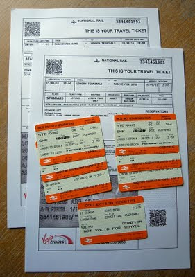 Train ticket from london to manchester