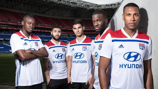 Olympique Lyonnais adidas 2018/19 kits