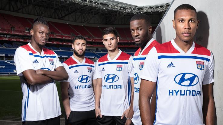 Olympique Lyonnais 2018/19 Kit - Dream League Soccer Kits