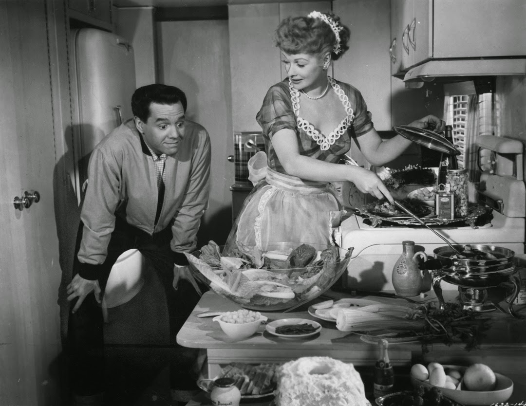 The Long Long Trailer Lucille Ball cooking scene comedy
