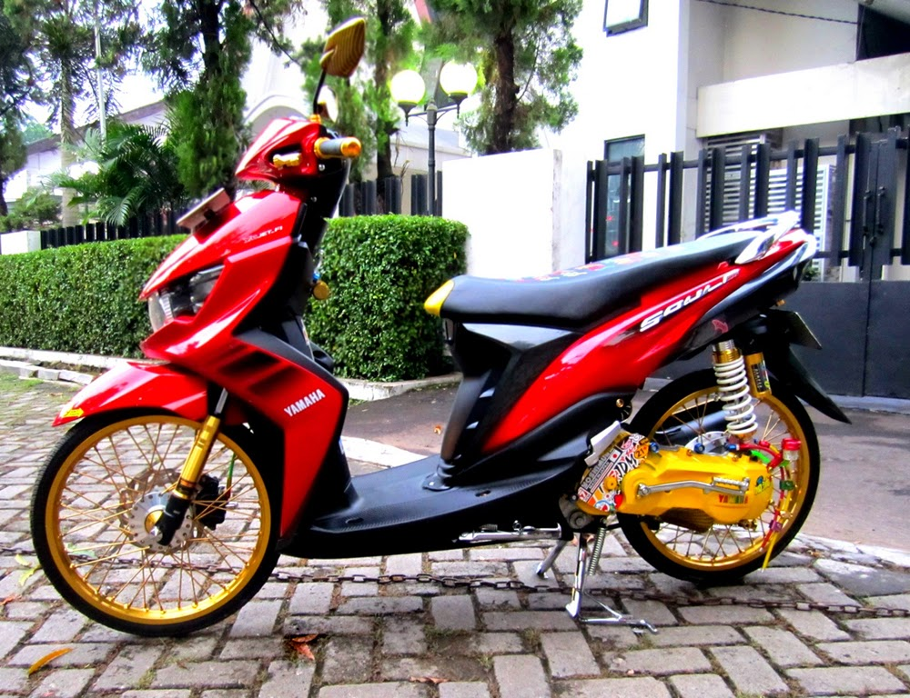 Related Image With Foto Modifikasi Motor Honda Beat 17