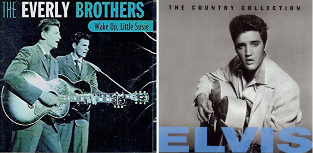 Everly Brothers e Elvis Presley