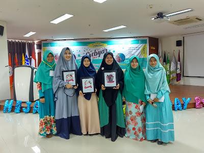 Nasriati Muthalib menjadi Pembicara Gebyar Hijab Day 2018