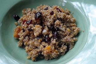 Butternut Squash Quinoa Stuffing 6
