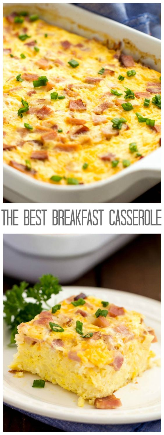 THE BEST BREAKFAST CASSEROLE #breakfast #breakfastrecipes #casserole #breakfastideas #thebestbreakfast