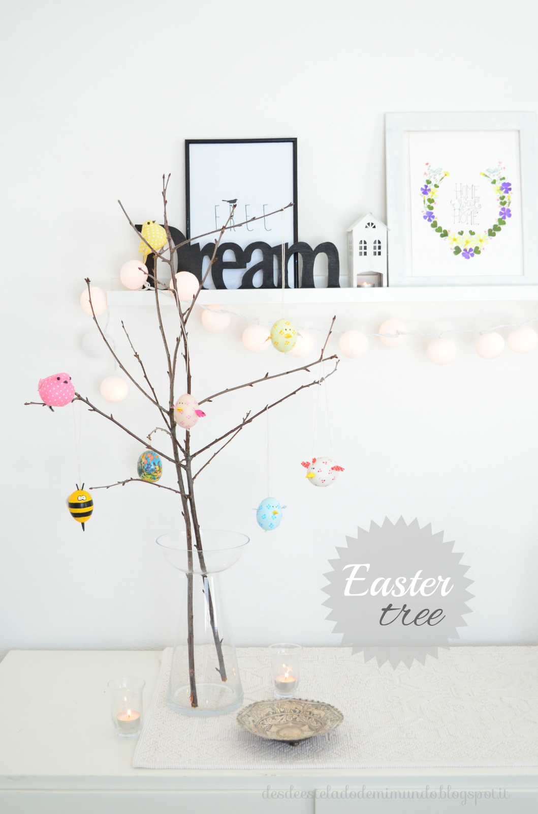 easter tree desdeesteladodemimundo.blogspot.it