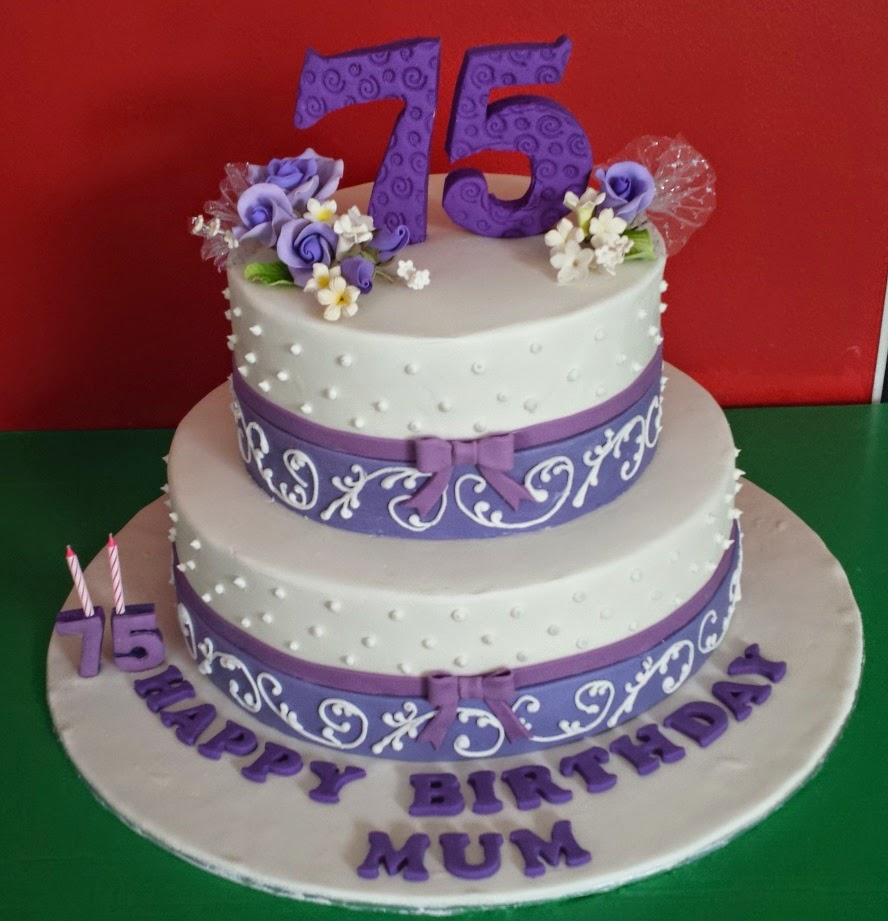 Happy 75th Birthday Mum