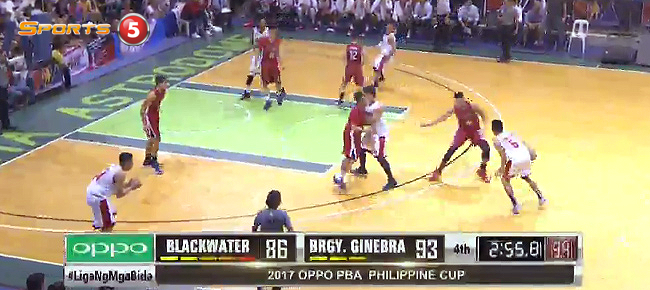 Ginebra def. Blackwater, 99-90 (REPLAY VIDEO) January 20