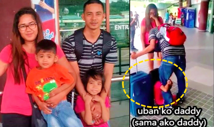 Mother of crying girl as OFW dad leaves PH tells story behind viral video