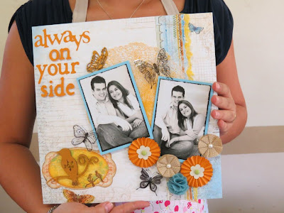 scrapbook título always on your side