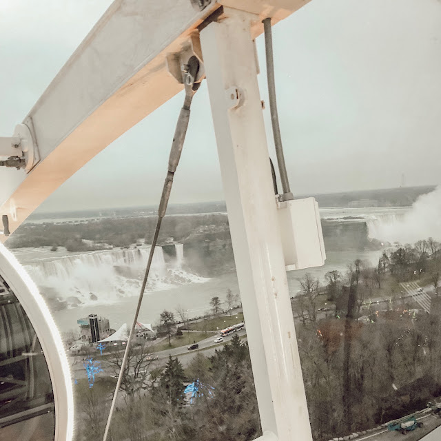view from the Niagara Skywheel