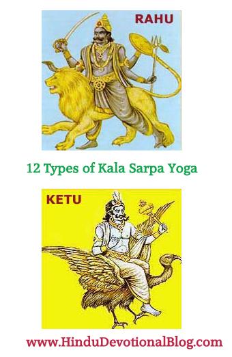 12 Types of Kalsarpa Yoga in Astrology   Hindu Devotional Blog
