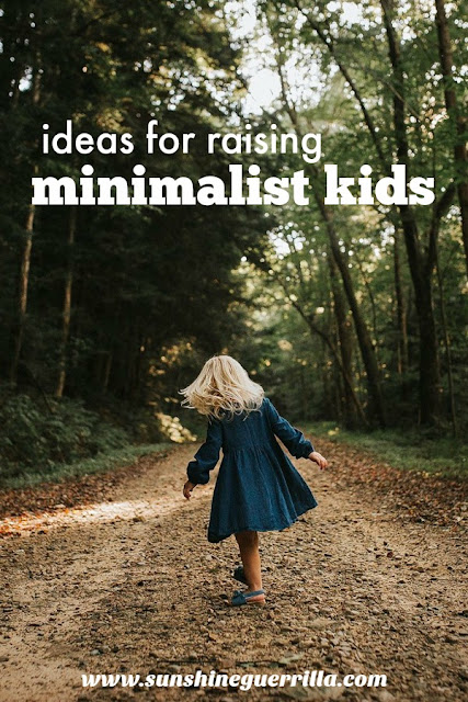 Ideas and Strategies for Raising Minimalist Kids