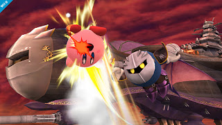 Meta Knight Shuttle Loop Super Smash Bros. For Wii U