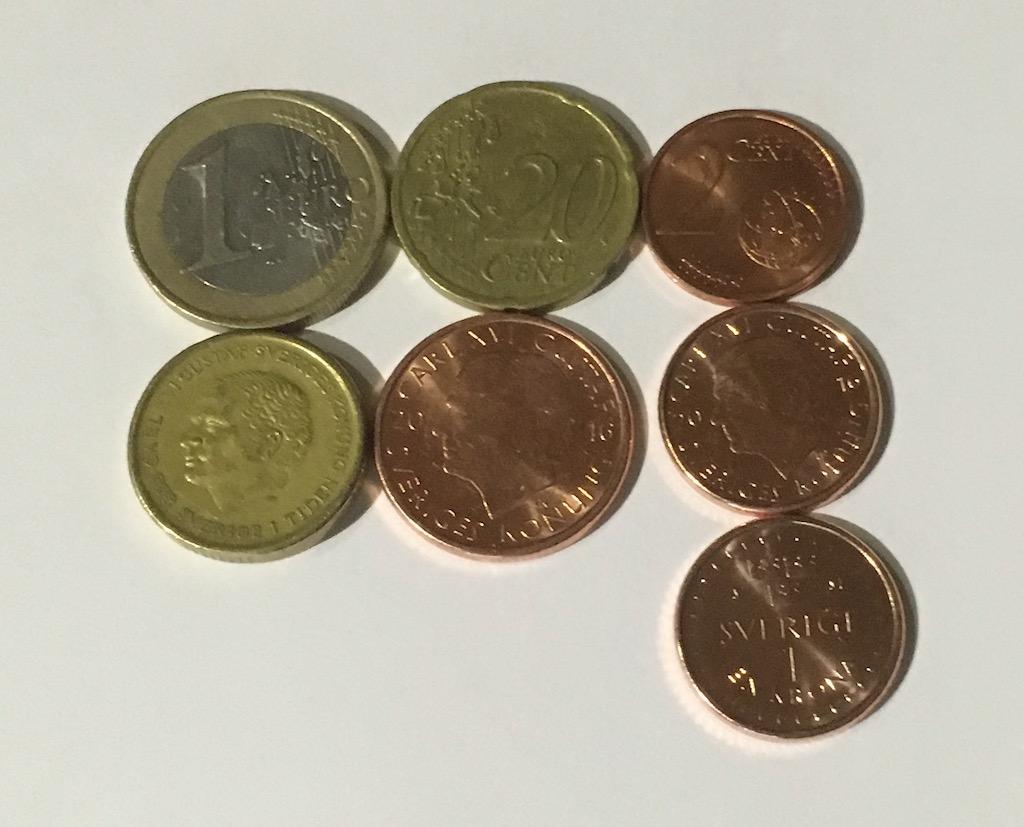 Tar forex emot svenska mynt