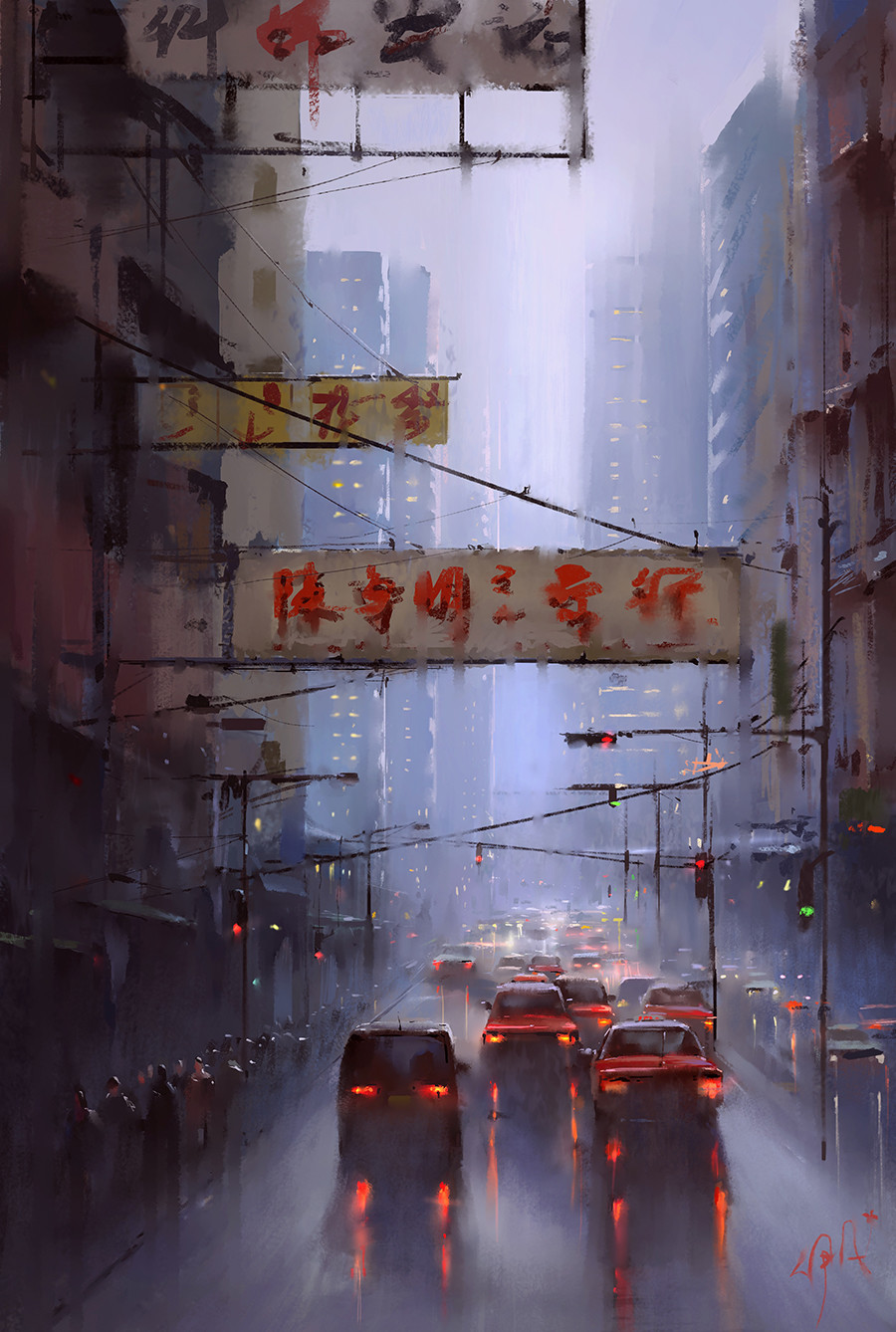 Digital Art By Chinese Artist Ivan 小红花