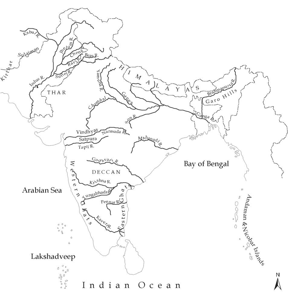 UPSC general studies and current affairs 2015: Rivers of