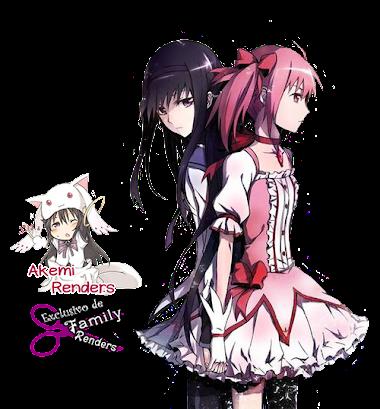 Akemi Homura y Madoka Kaname