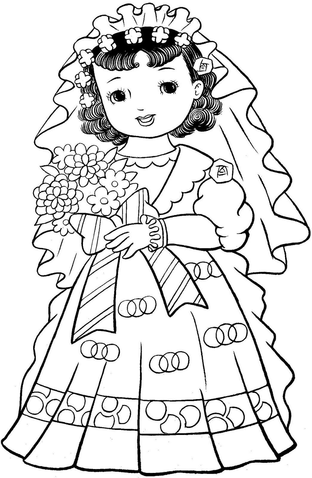 O Mundo Colorido Livro De Colorir Com Meninas Japonesas