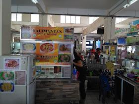 Lokasi Counter Makana Khas Pontianak (dok. pribadi)