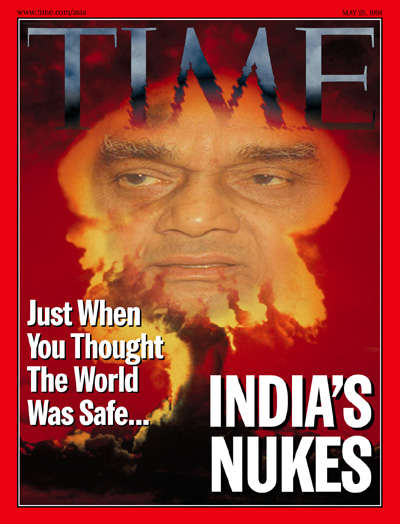 Atal Bihari Vajpayee on Time Magazine, 1998