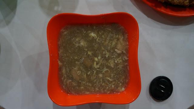 Sup Kepiting Asparagus Serayu Seafood Pontianak