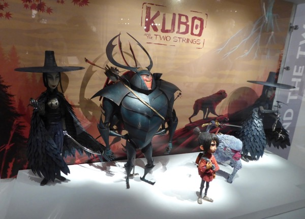 Kubo Two Strings stop-motion film puppets