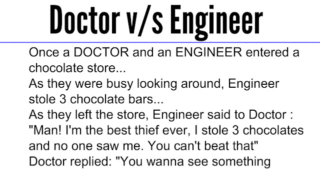 Doctor And Engineer Who Is Very Smart