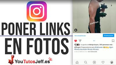 como poner enlaces en publicaciones de instagram