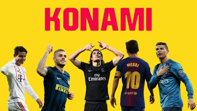 Konami Start Screen PES 2017