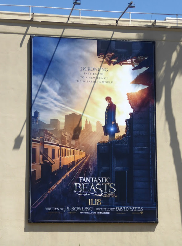 Fantastic Beasts teaser billboard