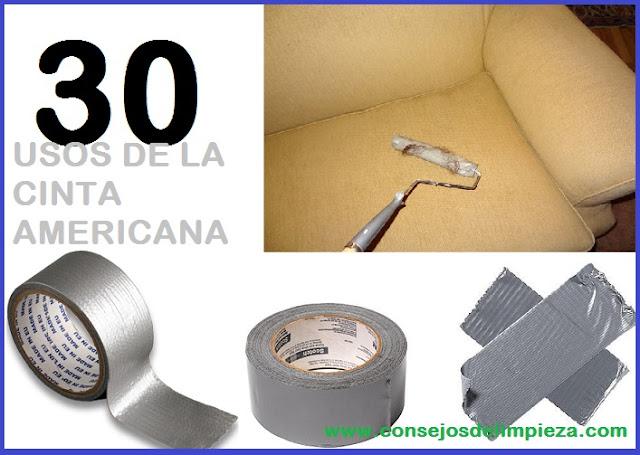 30 UTILIDADES DE LA CINTA AMERICANA  b5dac6562f5c