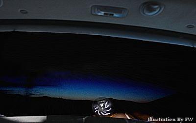 UFO Caused Traffic Accident?