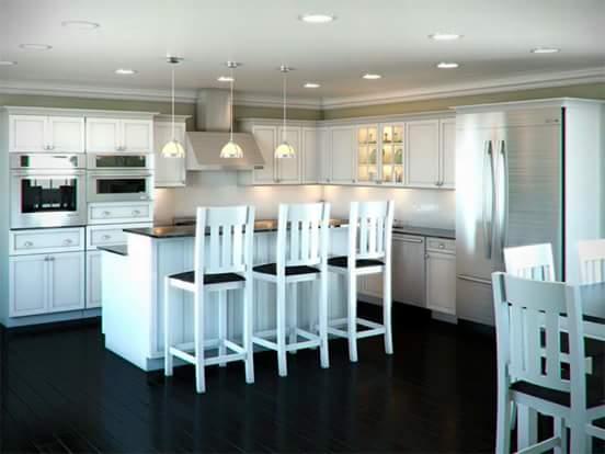 inspirasi desain kitchen set