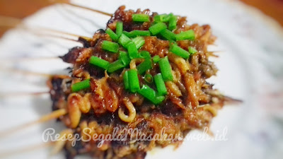 Resep Masak Sate Jamur Tiram