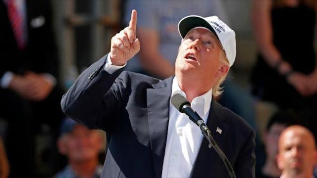 Trump advierte de un ataque aéreo de México a EEUU