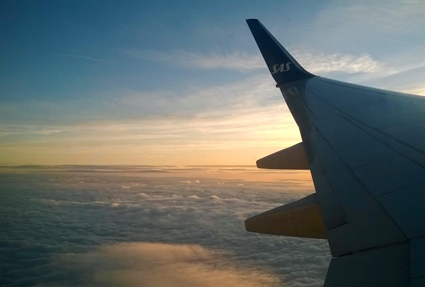 avion voyage svalbard