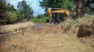 Εργασίες για καθαρισμό ρεμάτων και ποταμών της Περιφέρειας Δυτικής Ελλάδας