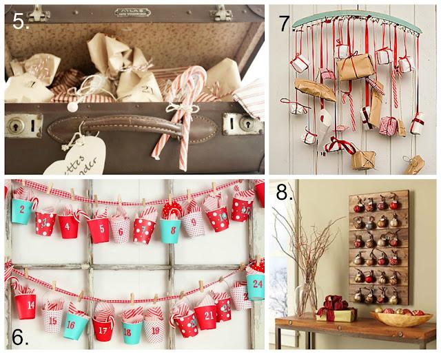 święta, ozdoby świąteczne, boże narodzenie, DIY, kalendarz adwentowy