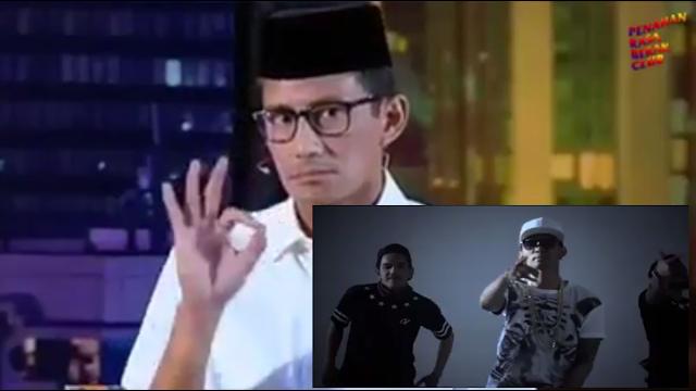 VIDEO : OK OCE Milik Sandiaga Uno Di Edit Oleh Netizen Menjadi O AJA YAKAN Versi Young Lex