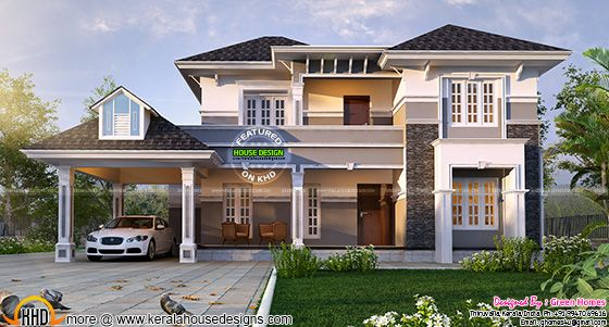2450 sq-ft house design
