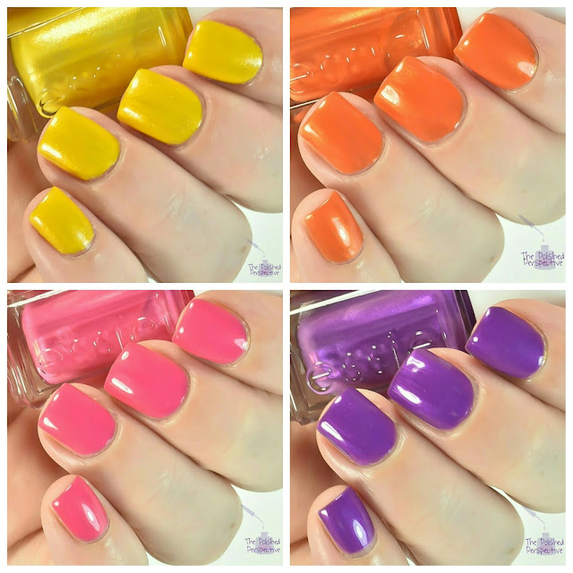 essie shimmer brights swatches