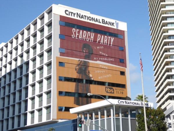 Search Party season 2 billboard