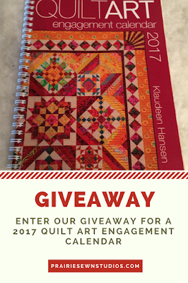 2017 Quilt Art Engagement Calendar Giveaway