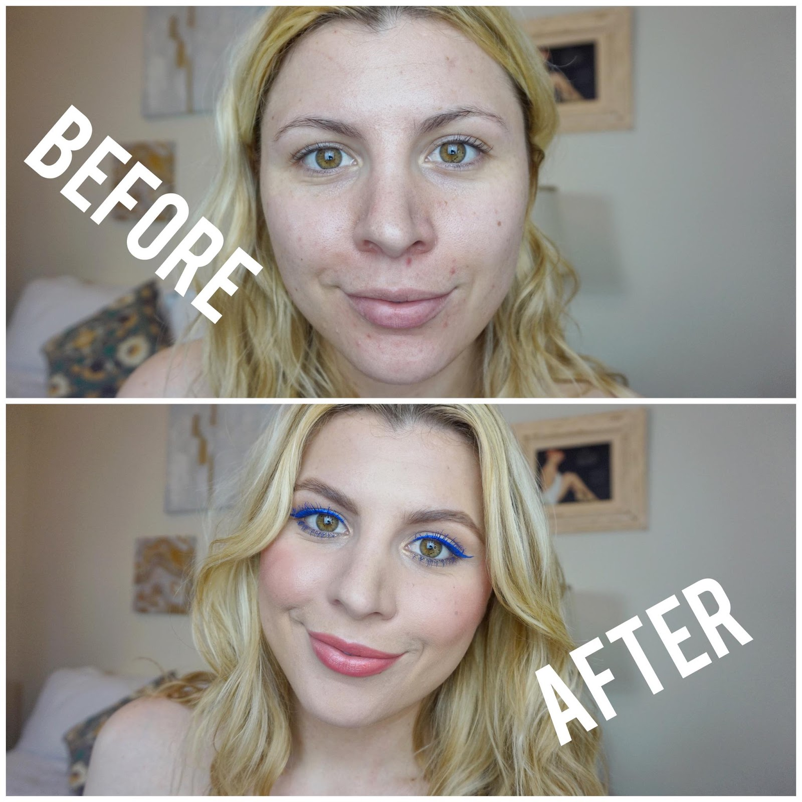 Before & After Makeup Transformation