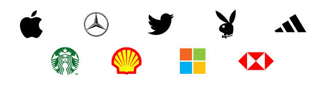 Logos with a symbol