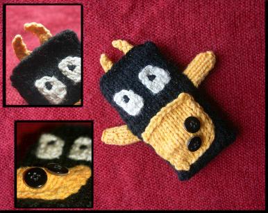 zabawka na drutach - prezent DIY