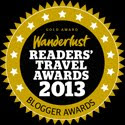 Wanderlust: Travel Blog of the Year 2012 - Silver Award